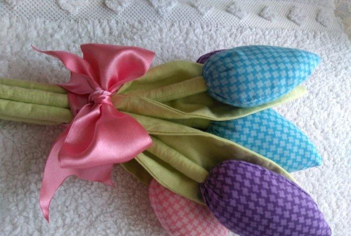 DIY Tilda Tulips เมื่อวันที่ 8 มีนาคม