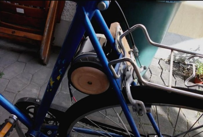 The simplest do-it-yourself electric bike