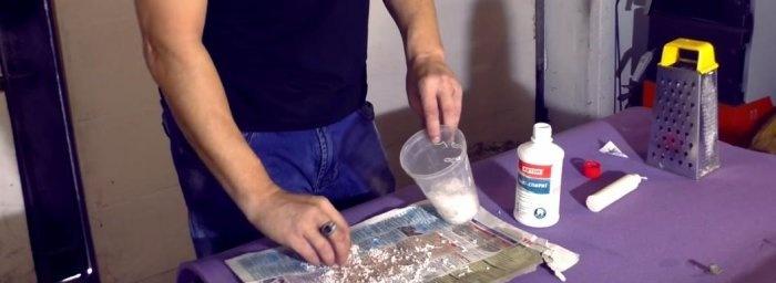 Sticlă lichidă de acoperire rezistentă la umiditate