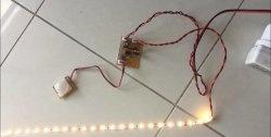 Iluminare automată LED cu senzor de mișcare