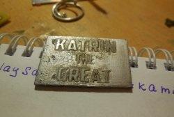 Декоративно офорт на метал