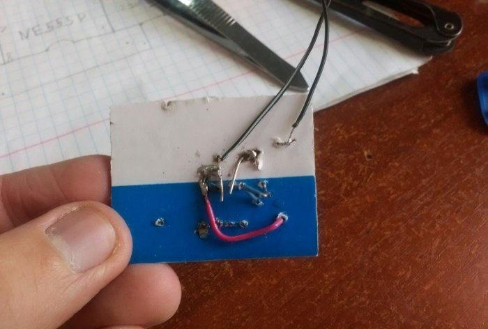 DIY simple metal detector circuit