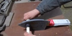 Пояло за полипропиленови тръби, изработени от желязо
