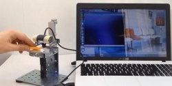 Πώς να φτιάξετε ένα ψηφιακό μικροσκόπιο από μια κάμερα web