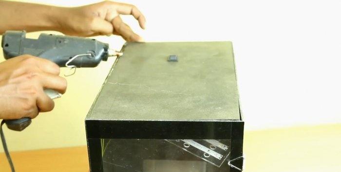 DIY mini ψυγείο 12V