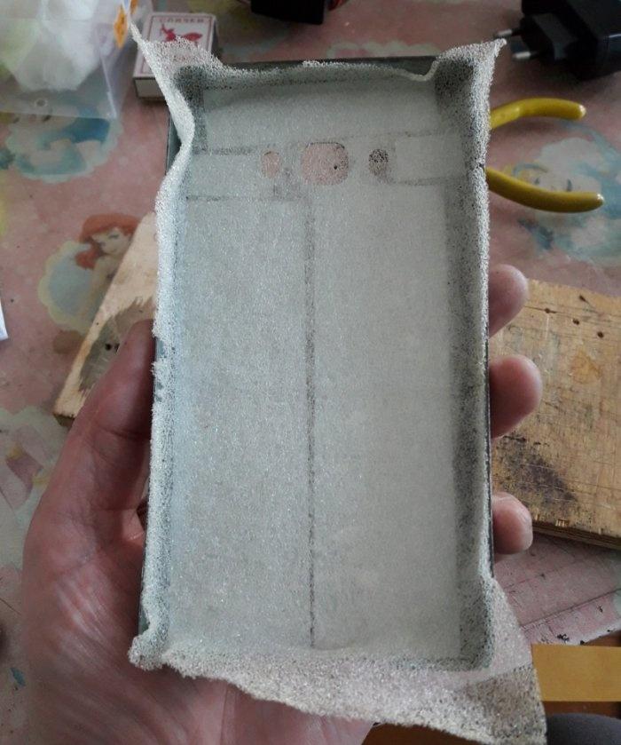 Capa de telefone de aço duro