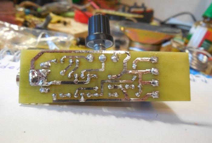 Amplificador no LM386