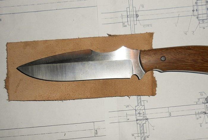 Πώς να ράψετε μια θήκη μαχαιριού