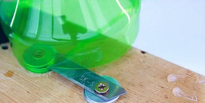 Συνεστραμμένη πλέξη για καλώδια από πλαστικό μπουκάλι