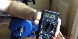 Gerador de motor de indução