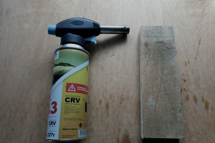 Do-it-yourself deep wood firing