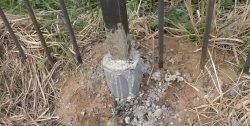 Como instalar um poste por séculos
