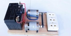 Convertor mecanic 12 - 220 V