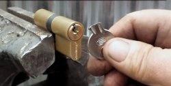 Sådan henter du en nøglechip fra en lås
