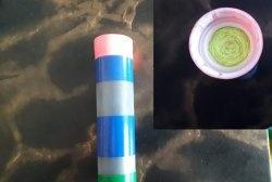 Φίλτρο κάρβουνου για πλαστική φιάλη