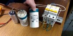 Επιλογή ενός πυκνωτή εργασίας για έναν τριφασικό ηλεκτροκινητήρα