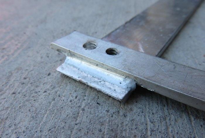 Cum se lipeste aluminiu