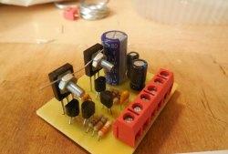 Amplificator de sunet tranzistor