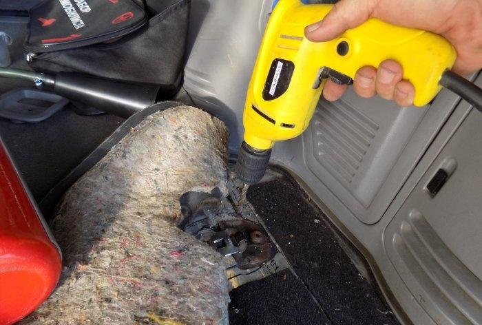 Suport de extindere auto DIY