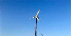 Generator eolian de la HDD și pompa mașinii de spălat