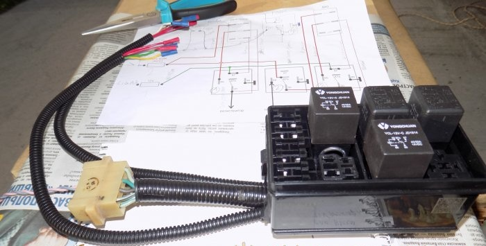 Adăugați un bloc releu la semnalul pneumatic al registratorului DRL al mașinii