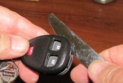 Repararea fobului cu cheie de alarmă