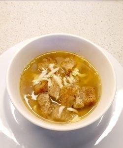 Supa de ceapa simpla