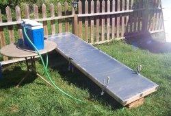 Coletor solar de policarbonato