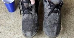 Πώς να κάνετε παπούτσια πανί αδιάβροχο