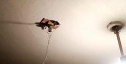 Cum să faci o mașină care să călărească pe tavan