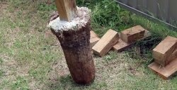 Hvordan man bare trækker en stang ud af jorden