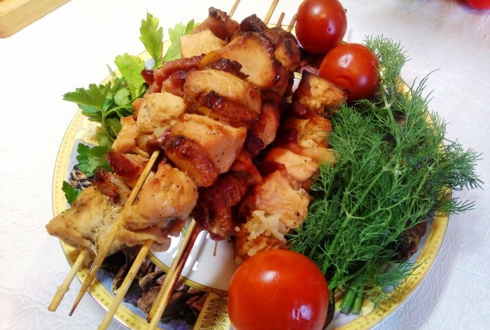 Kebab z kurczaka w słoiku