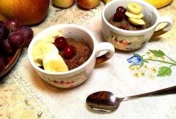Brownie în 5 minute în cuptorul cu microunde
