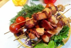 Kebab de pui într-un borcan