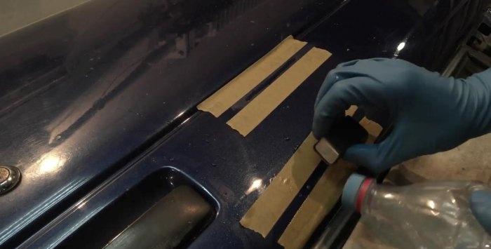 Cum să eliminați zgârieturile adânci pe o mașină