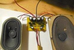 Amplificator simplu și cu putere redusă pe KT315