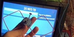 Antenă mini DVB-T2 DIY