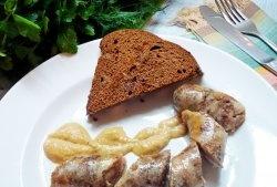 Cârnați de casă delicioși și ieftini, făcuți din coapse de pui și carne de porc tocată
