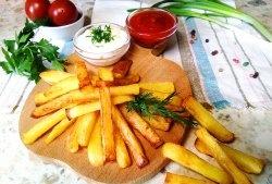 Cum să prăjiți cartofii crocanti simplu și rapid