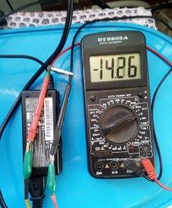 Încărcător pentru baterie de la alimentarea laptopului