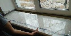 Cum să instalați un pervaz dacă o fereastră este deja în picioare