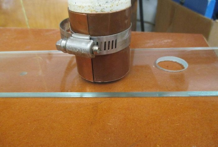 How to make a ring glass cutter