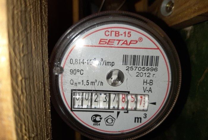 How to check the water meter yourself and why you need it