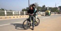 Bicicletă electrică asincronă puternică