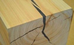 Crack repair in a tree