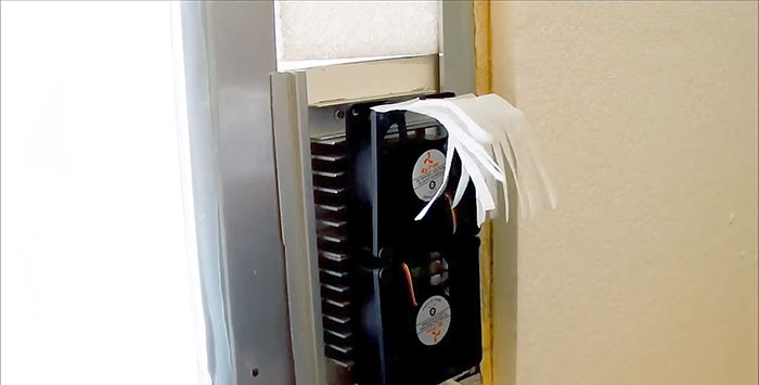 DIY Peltier aircondition