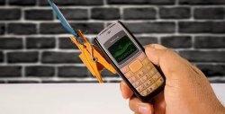 O sistema de alarme GSM mais simples de um telefone antigo