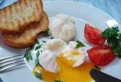Ou ouat într-o pungă (mic dejun rapid)
