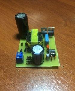 DIY poderosa fonte de alimentação de comutação de 12 V