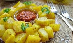 5 minute de cartofi aurii la cuptorul cu microunde